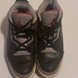 Jordan 3 black and cement